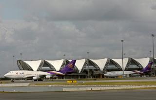 建設費の約6割が円借款のバンコク・スワンナプーム空港【2006年9月撮影】