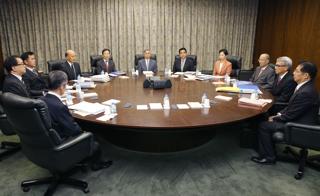 金融政策決定会合【2015年10月撮影】