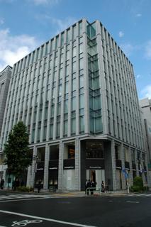 名古屋証券取引所ビル外観(名古屋市中区)【2007年8月撮影】