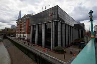 ロンドンにあるフィナンシャル・タイムズ本社ビル【2015年7月撮影】